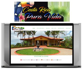 Web Costa Rica Pura Vida